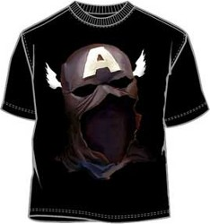 Winged Captain America Mask T-Shirt