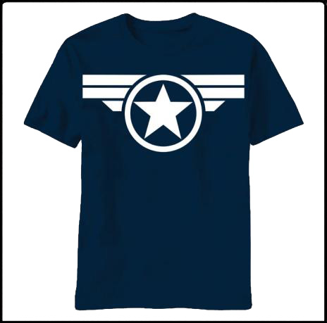 captain america t shirt good old steve cool tees funny t shirts. Black Bedroom Furniture Sets. Home Design Ideas