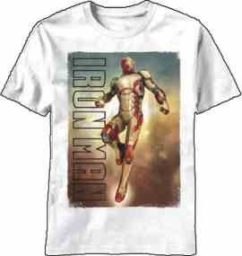 Invincible Iron Man Celing Break T-Shirt