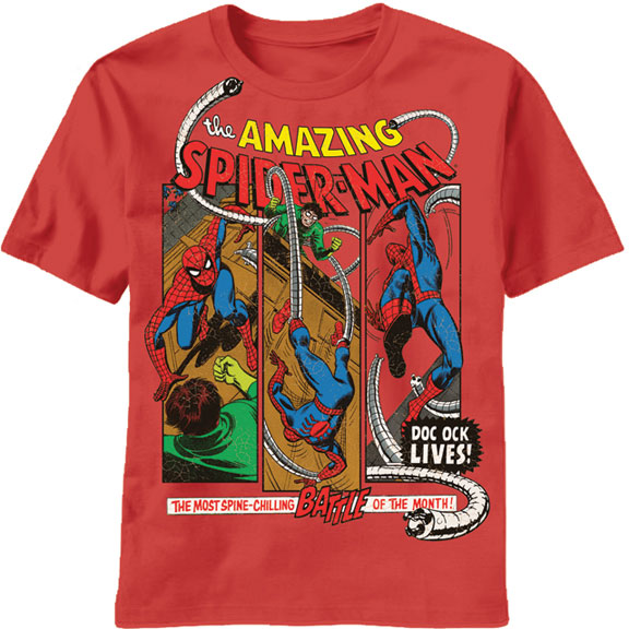 Octopus Lives Spider Man T-Shirt | eBay