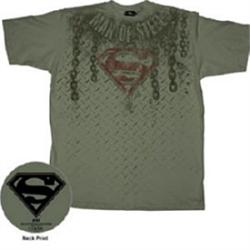 Chains Man of Steel T-Shirt