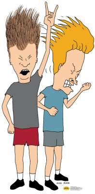 Beavis and Butthead Cutout