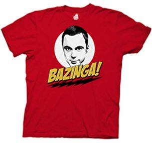 Shirt - Bazinga with Sheldon