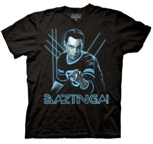 Sheldon Shirt - Tron