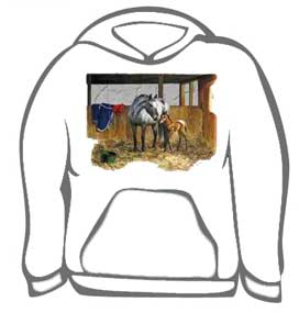 Horse Calf and Mother Tee