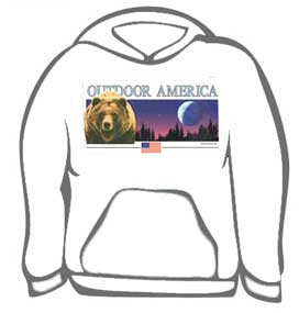 Grizzly Bear Outdoor America Tee