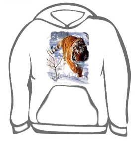Tiger Winter Hunting Tee
