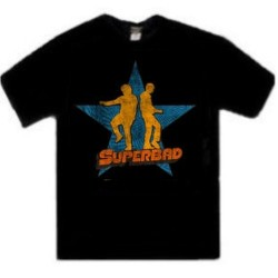 Superbad Seth And Evan Dance Star Tee