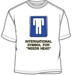 Symbol For Needs Head Tee Shirts