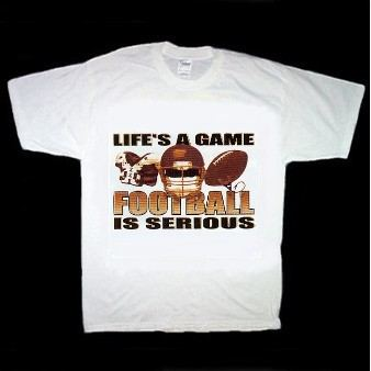 Serious Football T-Shirt