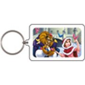 Disney Beauty and the Beast Keychain