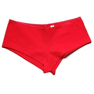 Women's shorty hip hugger underwear.