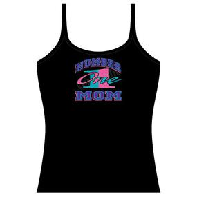 Strap Tank Top - Number One Mom